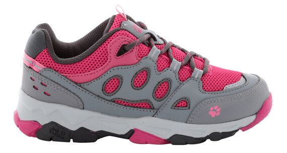 Jack Wolfskin MTN Attack 2 Low Shoes Kids pink lemonade